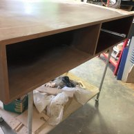 Stripped Coffee Table for Restoration